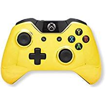Xbox One Modded Controller Chrome Gold - Master Mod Includes Rapid Fire, Quick Scope, Drop Shot, Auto Aim, Sniped Breath, Mimic, and Much More - Designed For COD Black Ops 3, Advanced Warfare, Titanfall, Battlefield 4