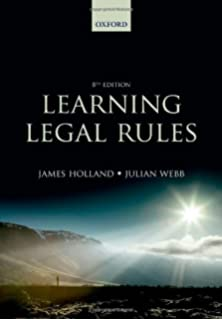 Legal skills amazon emily finch stefan fafinski learning legal rules a students guide to legal method and reasoning fandeluxe Choice Image