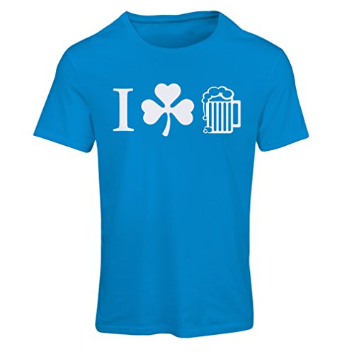 Camiseta mujer The Symbols of St. Patrick's Day - Irish Icons Azul Multicolor