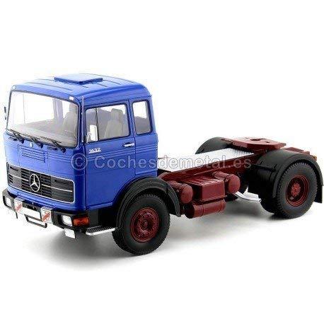 punto de venta 1969 Camion Camion Camion Mercedes LPS 1632 Dos Ejes azul-rojo 1 18 Road Kings 180022  descuento de ventas en línea