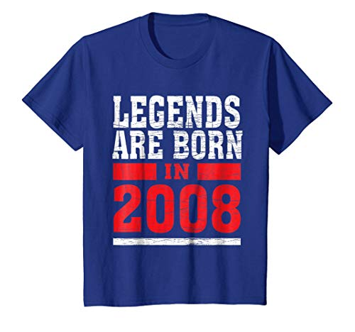 Kids Legends Born in 2008 10 years old 10th Birthday