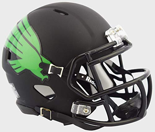 - Riddell North Texas Mean Green NCAA Revolution Speed Mini Football Helmet