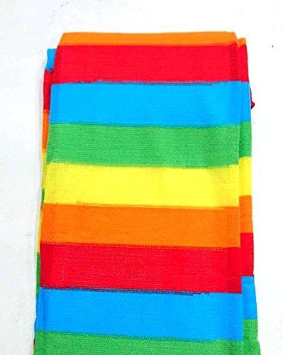 Calzini Il Partito Rainbow Alto Colorata Striscia Vestire Sopra Ginocchio Nuove Calze Donne 18 Rainbow Colori zIRTq8I