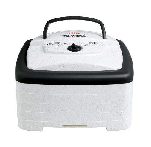 Nesco FD-80A Square-Shaped Dehydrator - MADE IN USA