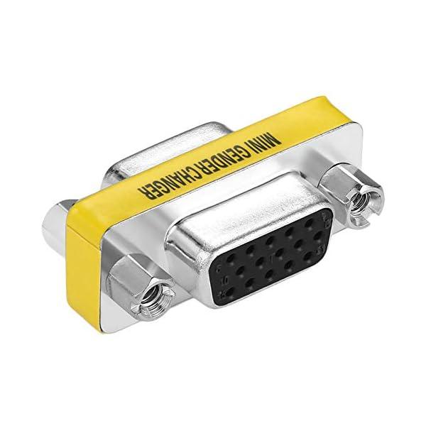 Adattatore per trasformatore di Genere a Pin Femmina VGA HD15 da Donna a Femmina di Design Professionale Disponibile… 5 spesavip