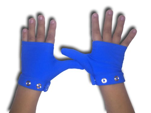 Stop Thumb Sucking with Boucing Blue Large ages 4 & up by Glovey Huggey