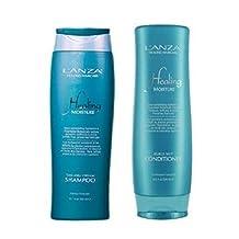 Lanza Moisture Tamanu Cream Shampoo 10.1 oz Kukui Nut Conditioner 8.5oz DUO Set