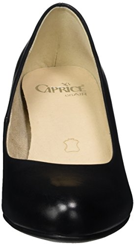 Scarpe Donna Nero 22309 Con Caprice Nappa Tacco black 1XIwqq