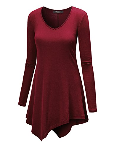 Womens Sleeve Tunic Asymmetrical Made product image