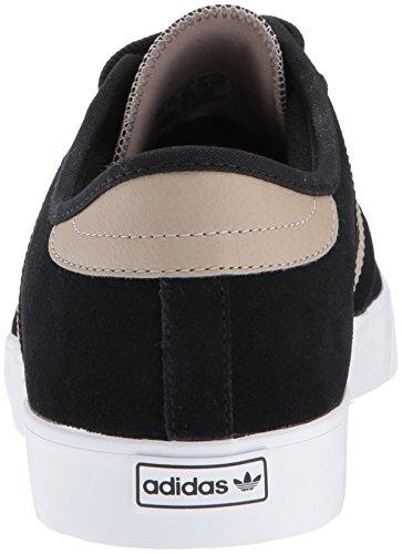 adidas Originals Herren Seeley Skate Schuhe Schwarz / Spur Khaki / Weiß