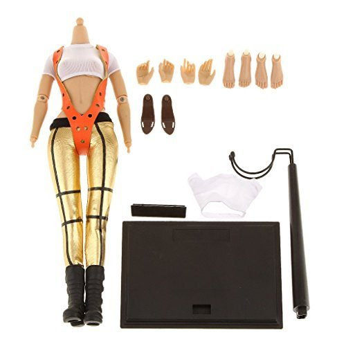 [[No brand goods] 1/6 scale female action figure clothing costume body doll gift # 3] (Female Action Figure Costumes)
