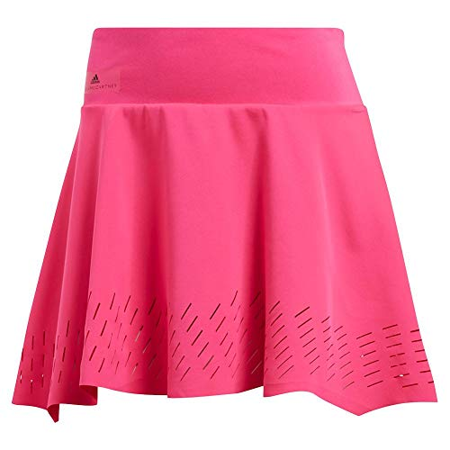 (adidas by Stella McCartney Tennis Skirt, Shock Pink (Large))