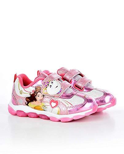 Disney Beauty & The Beast Princess Belle Toddler Girls Sneaker (Toddler/Little Kid, Size 7) Pink