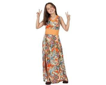 Atosa-23674 Disfraz Hippie, Color naranja, 4 años (104 cm) (23674 ...