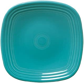 product image for Fiesta Square Luncheon Plate, 9-1/8-Inch, Turquoise