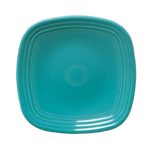 Fiesta Square Salad Plate, 7-1/2-Inch, Turquoise