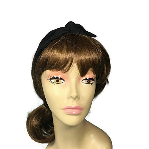 Amazon Black Lycra Rockabilly Headband Rosie The Riveter