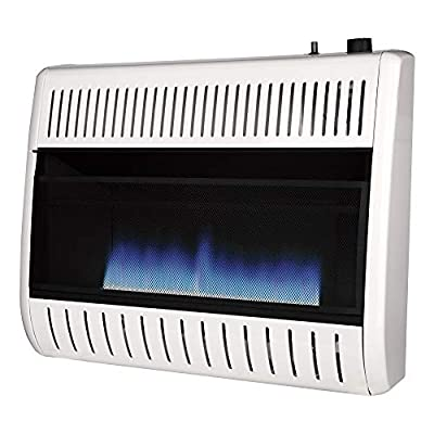 REMINGTON REM-B300NT-F 30K Blue Flame NG Heater, White