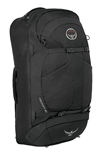 Osprey Packs Farpoint 80 Travel Backpack, Volcanic Grey, Medium/Large by Osprey (Image #1)
