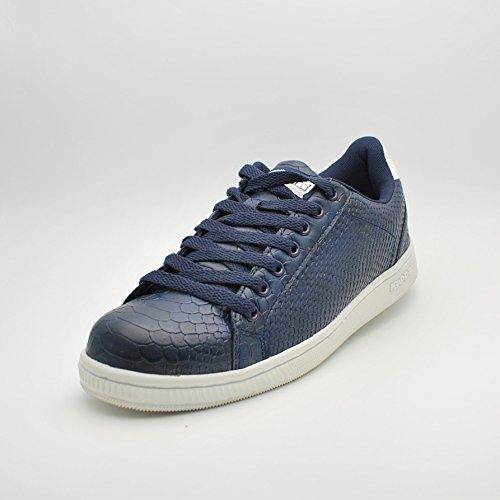 Blue 4 Sneakers Galter Marine White HwP58Rq8Y