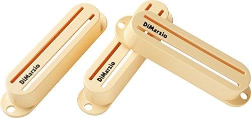Dimarzio Fast Track (DiMarzio DM2002 Fast Track Strat Pickup Covers Set of 3 Cream)