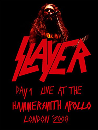 - Slayer - Live at the Hammersmith Apollo, London