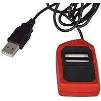 Safran Morpho MSO 1300 E2 Fingerprint Scanner With USB Support (Red & Black)