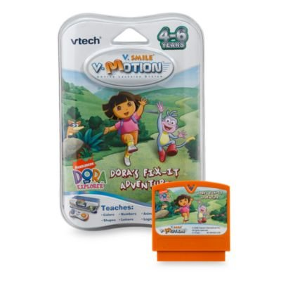 - V-tech V.smile Smartridge Cartridge - Dora's Fix-it Adventure
