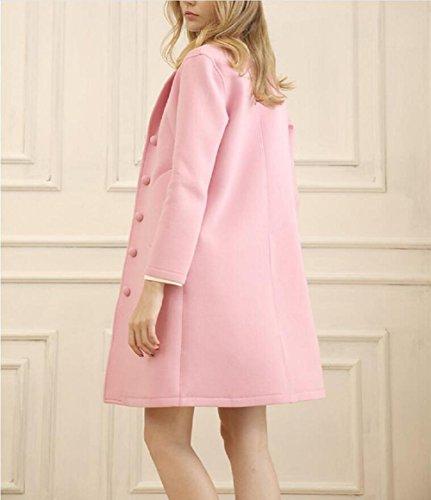 GJX Services à domicile Mesdames en automne et en hiver le nouveau foyer espace couche de coton , pink , l