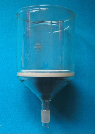 2000ml (2 Litre) Glass Buchner funnel filter, 3# core size 15-40 Micron, with 24/29 standard joint Beijing Getty Laboratory Glassware Co.