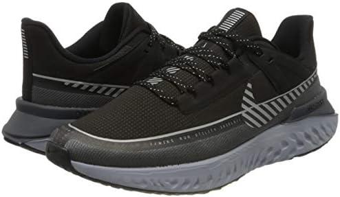 41u2I84HTSL. AC Nike Men's Legend React 2 Shield Running Shoes    Nike NIKE LEGEND REACT 2 SHIELD Men's Running Shoes BQ3382-001