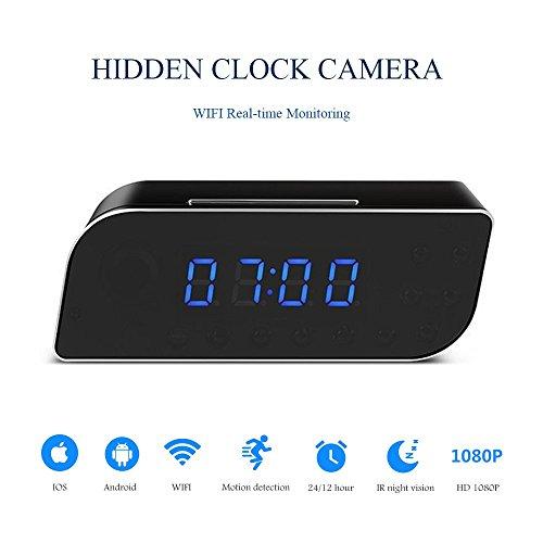 Spy Camcorder Clock - 2