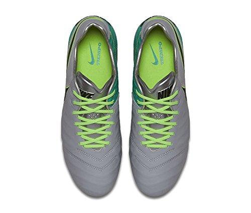 Nike Tiempo Legend Vi Fg, Botas de Fútbol para Hombre Gris (Gris (wolf grey/black-clear jade-hyper turq))