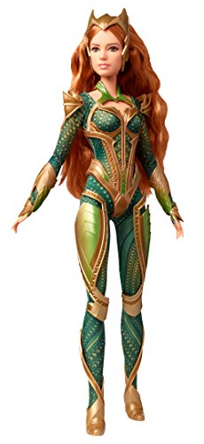 Barbie Justice League Mera Figure (Movie Barbie Hero Super)