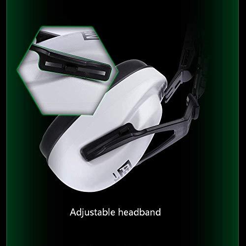 FS Head-mounted Noise-proof Earmuffs,Noise-proof Earmuffs Special Earmuffs For Helmet-type Helmet Construction Noise Reduction 25 Decibels (Color : Earmuffs) by FSHEZ (Image #3)