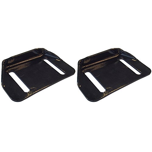 784-5580 Set of 2 Snow Blower Thrower Slide Shoe Skids for MTD Cub Cadet Yardman