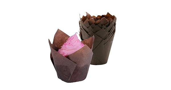 Amazon.com: Tulip Cupcake Liners Baking Cups – 1000pcs ...