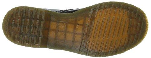 1460 Mujeres Botas Patent Zapatos eyelets Martens Negro Cuero Dr 8 ZTUwYq