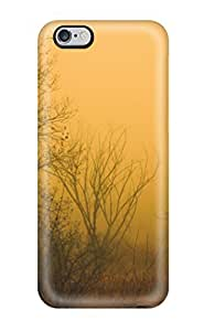 Iphone 6 Plus Case Cover - Slim Fit Tpu Protector Shock Absorbent Case (foggy Forest) by Maris's Diary