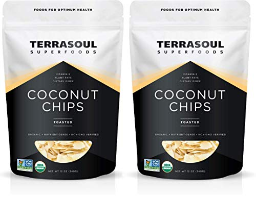 Terrasoul Superfoods Organic Toasted Coconut