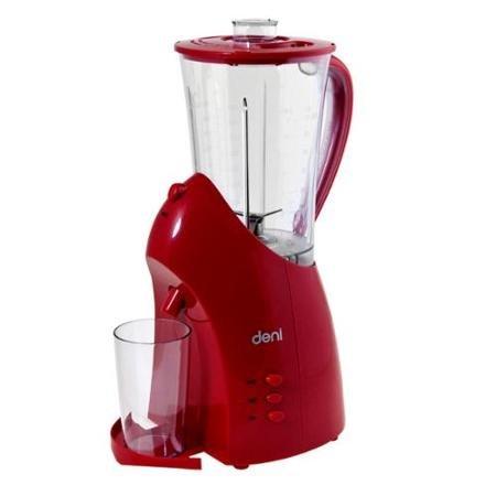 Deni Easy Pour Blender 500W 2-Speed 56oz Dispenses into Bonus Cup Red Color