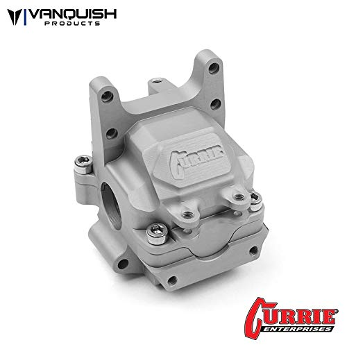 - Vanquish Products Yeti Currie F9 Front Bulkhead, Clear Anodized, VPS07901