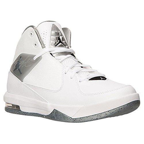 Nike Air Incline bianco / nero / WLF Gry / unvrsty Bl scarpa da basket 9 US