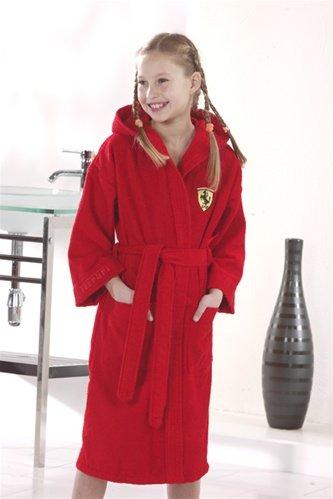 Ferrari Kid's Bathrobe - Ferrari Collection F1