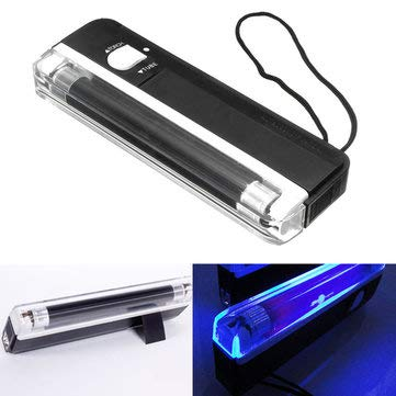 Detector Assembly (Tail Light Assemblies Car License Plate Lights - Glow Black Ultra Violet Pet Urine Stain Detector Effects - 1 x UV Blacklight Detector Effects)