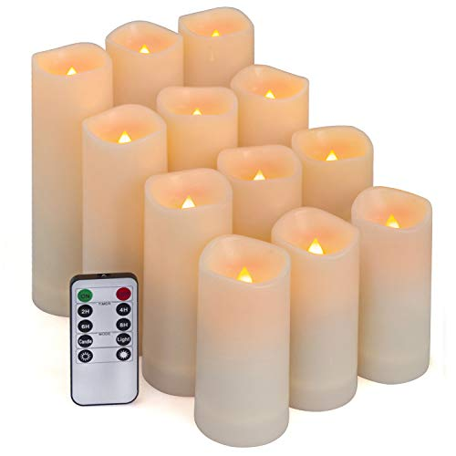 Aignis Flameless Candles, Led Candles Set of