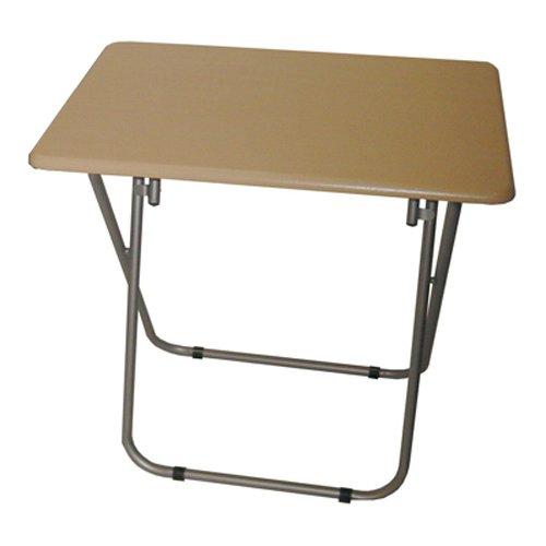 TABLE - mesa plegable - color haya / plateado WATSONS 501205392625