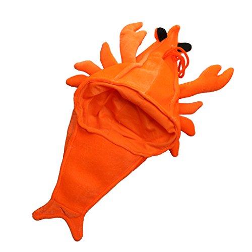 Jili Online Men Women Kids Lobster Sea Animal Costume Cap Hat Party Fancy Dress Props (Sea Creature Costumes)