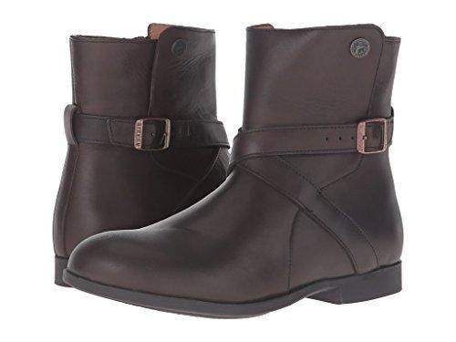 Birkenstock Womens Collins Boots Dark Brown Leather Size 38 EU (7-7.5 M US Women)