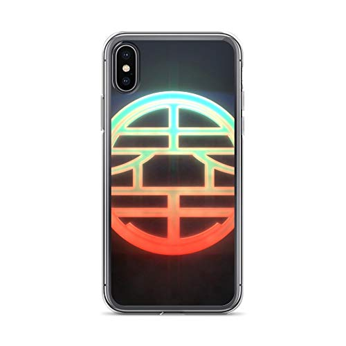 iPhone X/XS Case Anti-Scratch Gamer Video Game Transparent Cases Cover Kami Gaming Computer Crystal Clear ()
